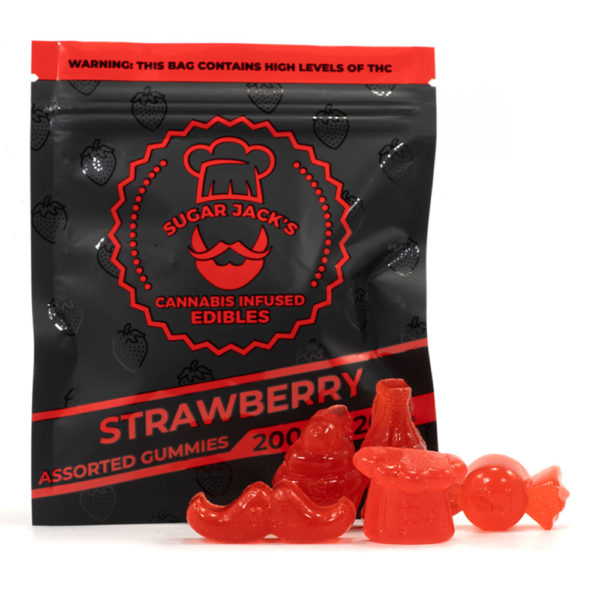 200mg THC Assorted Gummies (Sugar Jack's)