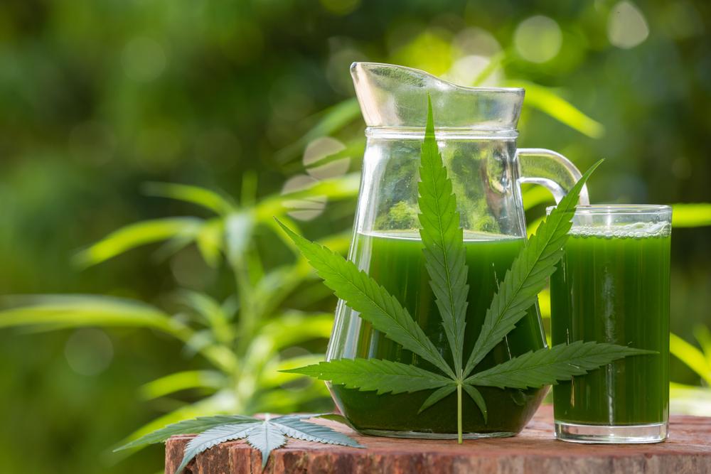juicing cannabis