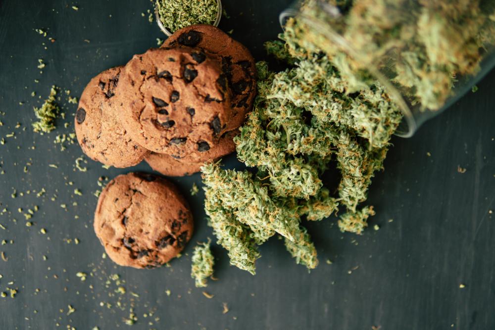 cannabis-infused food
